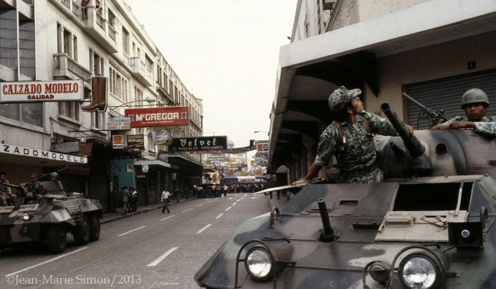 02_Ocupación militar en la zona 1 durante el golpe de Estado liderada por Efrain Ríos Montt en el año 1982_JMS
