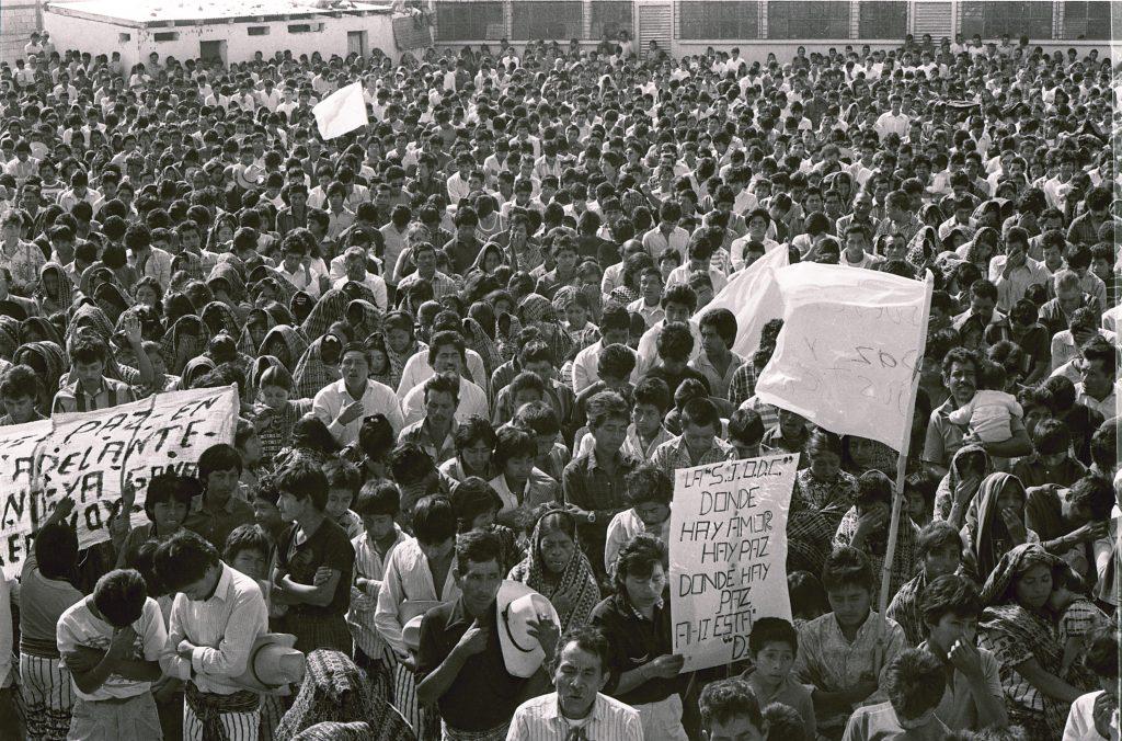 04-2_Pero no obstante, el grupo creció, lo que fue visible en la participación en la marcha de San Lucas Sacatepéquez_RV