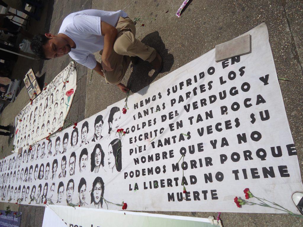 Conmemoración Día Internacional contra la Desaparición Forzada