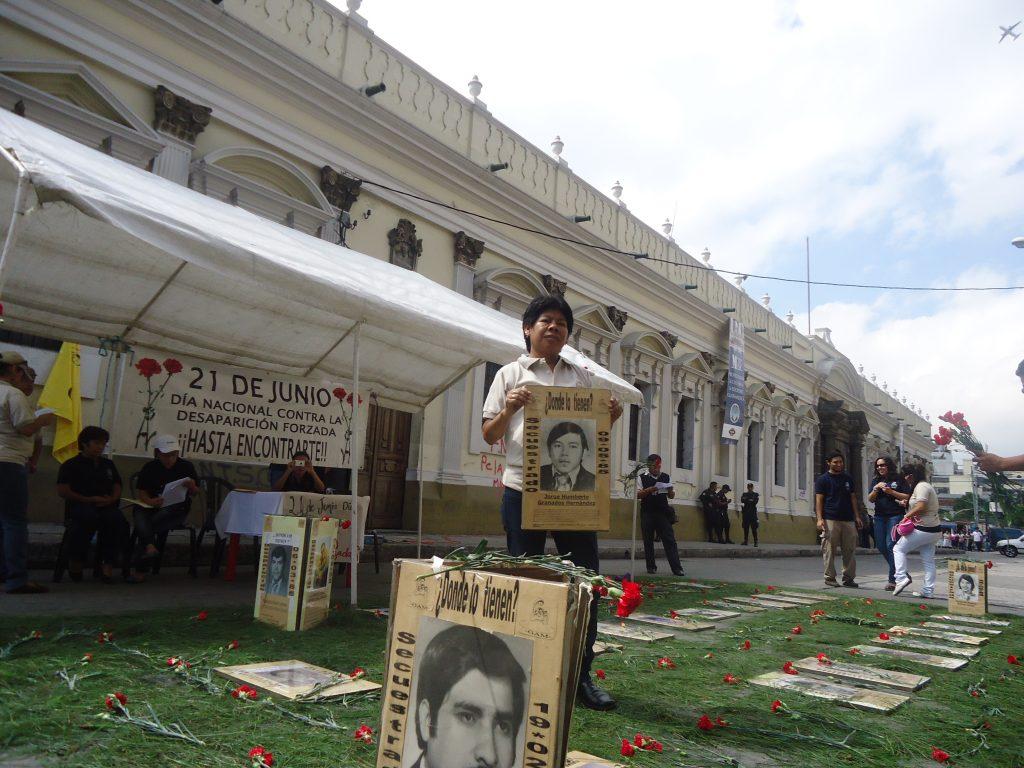 Conmemoración Día Nacional contra la Desaparición Forzada