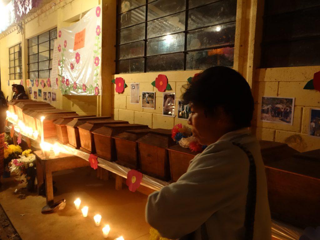 Inhumación en Quiquil, Huehuetenango