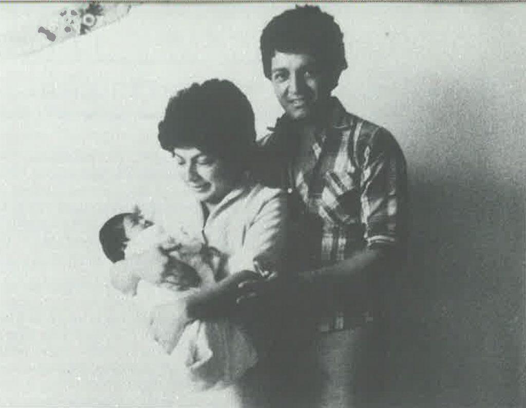 Nineth de García junto a su esposo Fernando García, desaparecido desde febrero de 1984