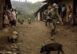 Ocupación militar en la finca la perla en Ixcán, Quiché_JMS
