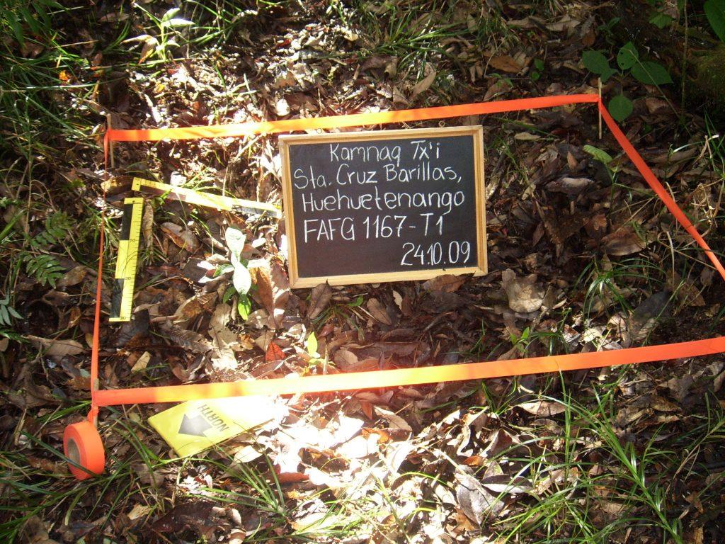 Exhumación realizada en Barillas, Huehuetenango